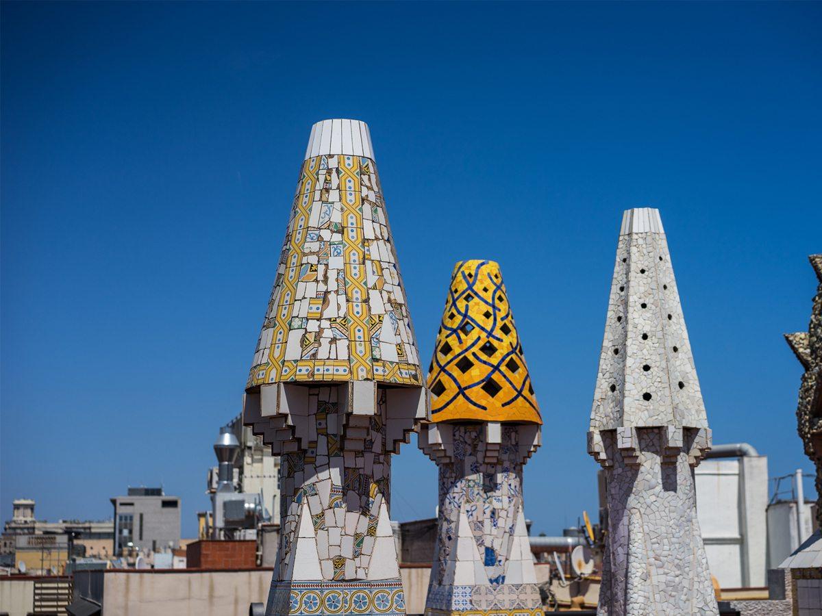 Obras de Antonio Gaudi en Barcelona