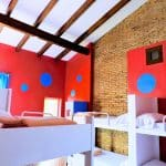 Bright rooms in Valencia for travelers.