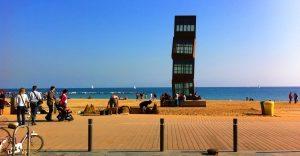 Barcelona Beach to Traveller