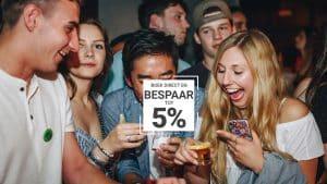 Boeken direct en Bespaar tot 5% by Feetup Hostels